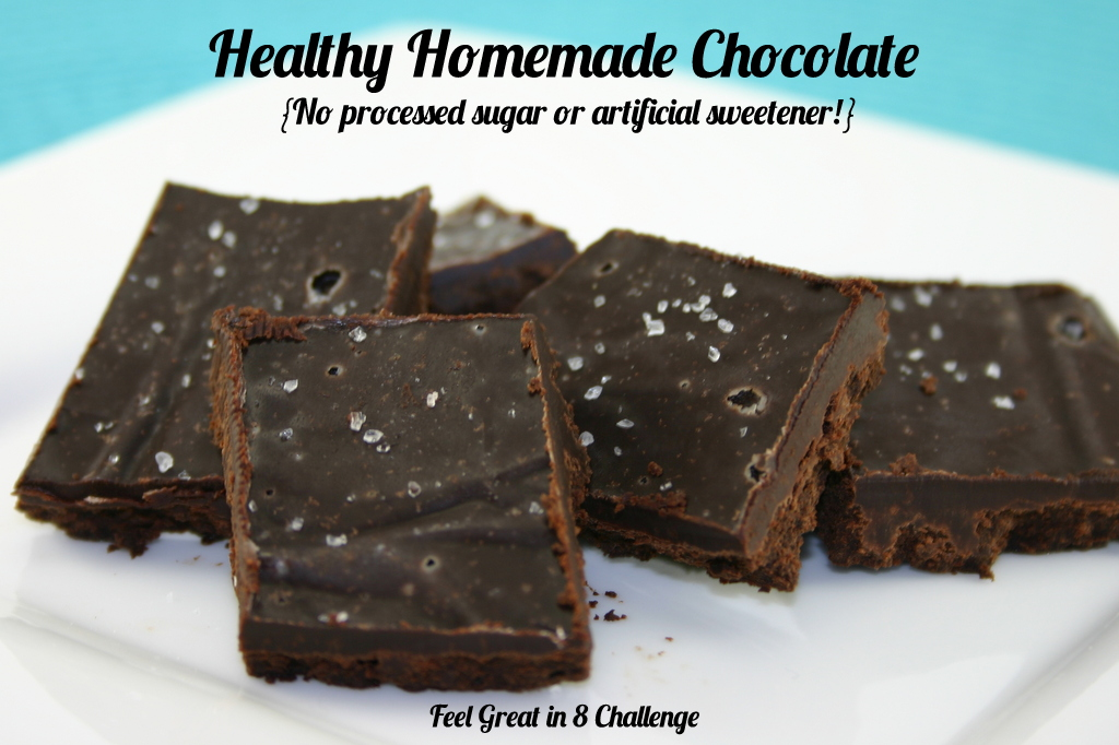 Healthy Homemade Chocolate | Feel Great in 8