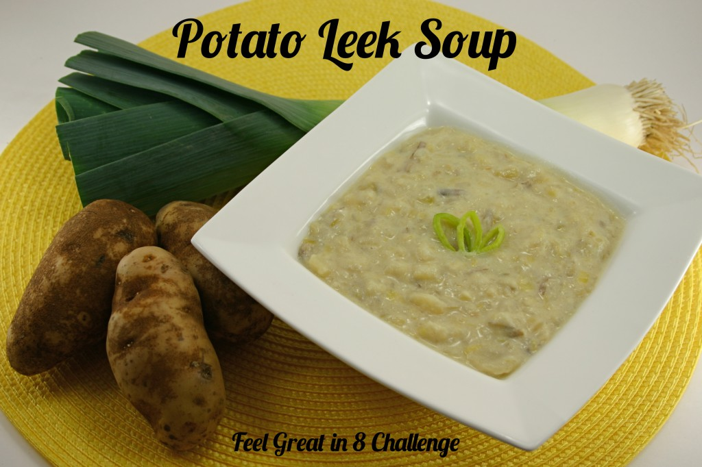 Hearty & Healthy Potato Leek Soup | Feel Great in 8