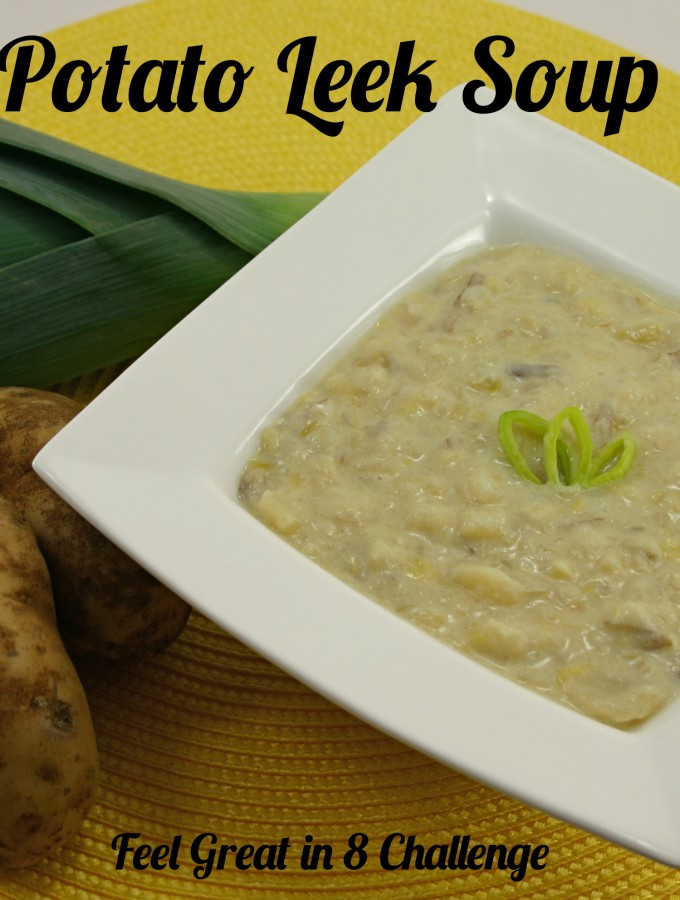 Hearty & Healthy Potato Leek Soup