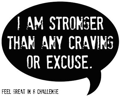 I am stronger…