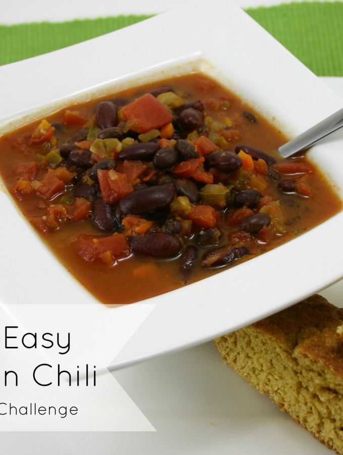 Yummy Vegetarian Chili
