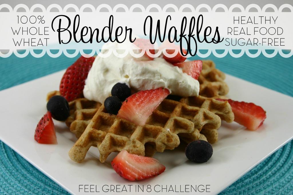 Whole Wheat Blender Waffles