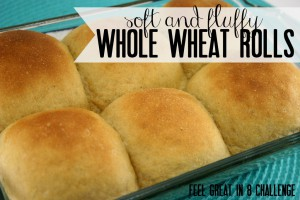 Get the recipe and all the tips and tricks for making homemade 100% whole wheat dinner rolls that are soft, fluffy and delicious! #homemade #bread #wholewheat #rolls #healthy