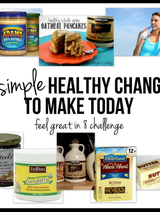 8 Simple Healthy Changes to Make Today! | Feel Great in 8