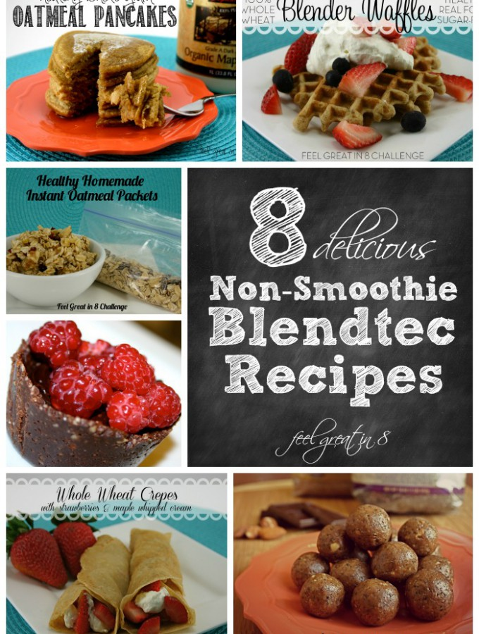 There are so many fun ways to use a Blendtec blender besides just for smoothies! Checkout this list of 8 delicious, healthy non-smoothie Blendtec recipes. #healthy #recipes