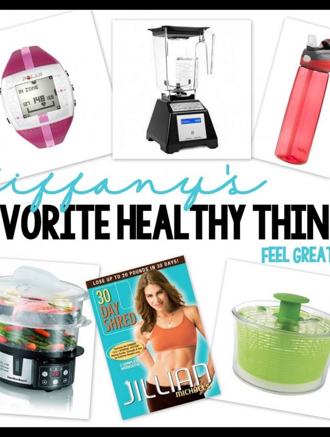 My Favorite Healthy Things {Blendtec Giveaway!!!}