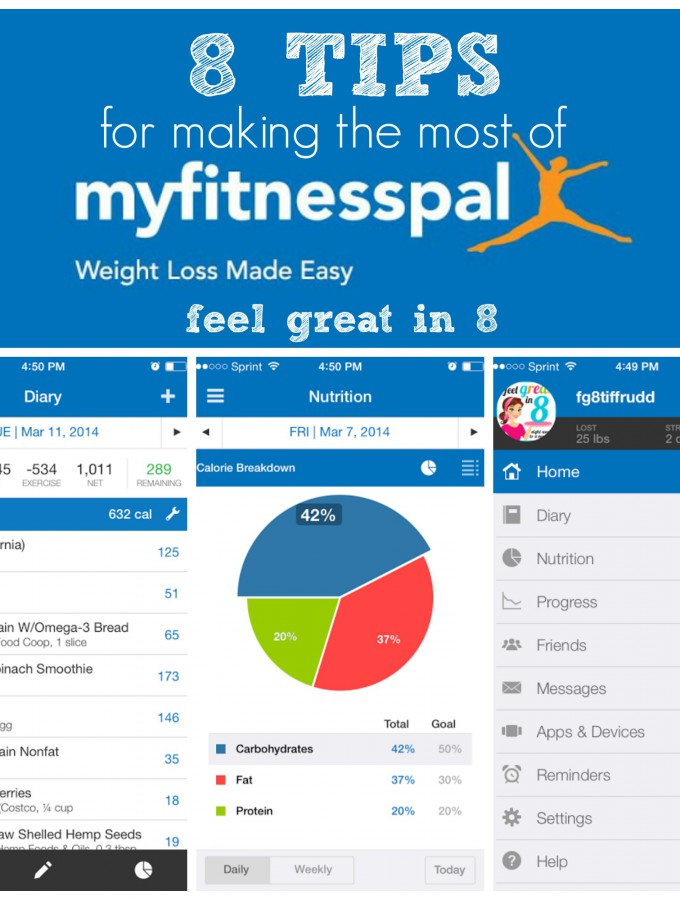 MyFitnessPal is a fantastic FREE app for tracking your calorie intake, nutrition, and exercise! These tips are great for making the most of this awesome health tool! #exercise #healthy #tips
