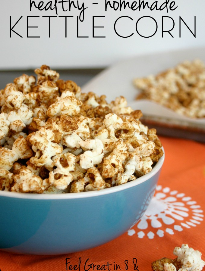 Healthy Homemade Kettle Corn