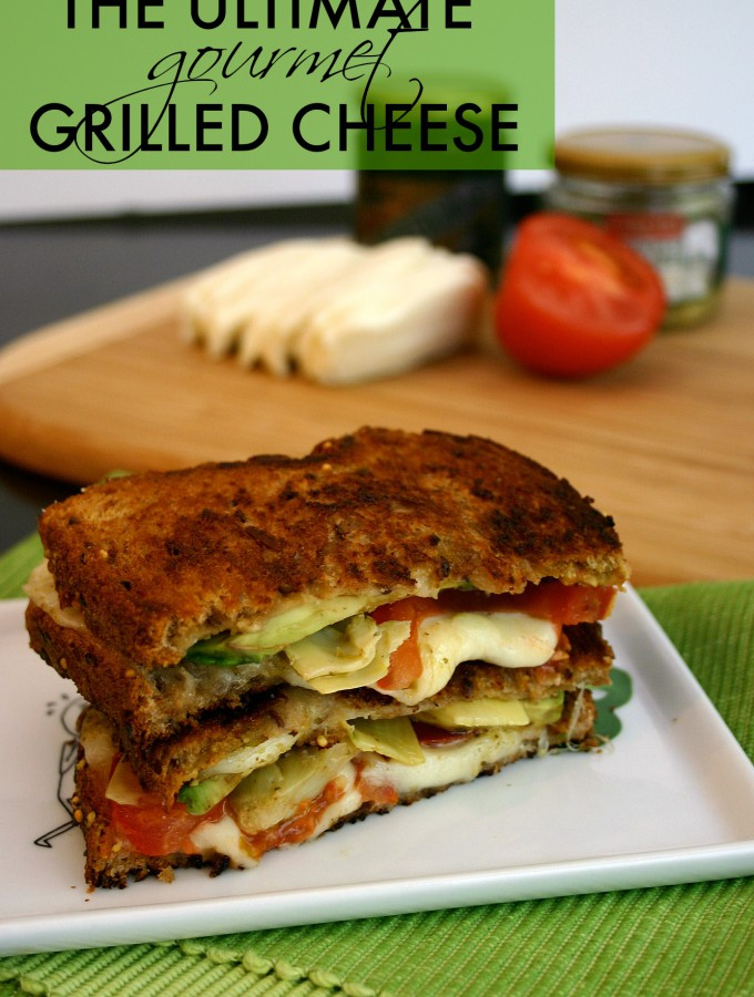 The Ultimate Gourmet Grilled Cheese Sandwich