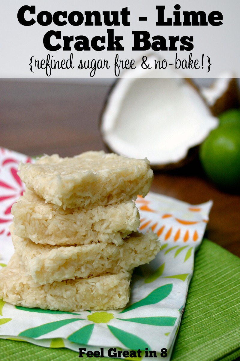 Feel great in 8 blog easy real food recipes simple tips for a loaded with the flavor combination of coconut and lime in these easy coconut lime crack bars is forumfinder Gallery