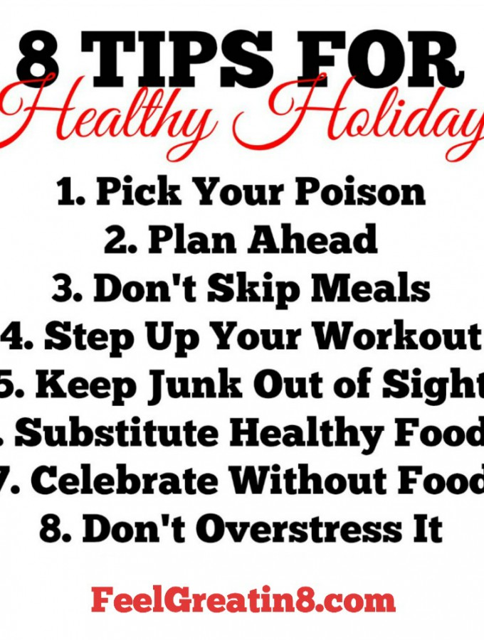 8 Tips for Healthy Holidays