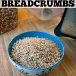 5 Minute Homemade Breadcrumbs - You won't believe how quick and easy it is to make healthy homemade breadcrumbs for any recipe! | Feel Great in 8 #homemade #healthy #easy
