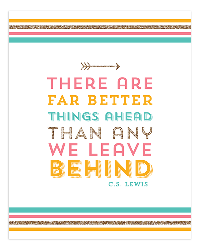 Healthy Inspiration: There Are Better Things Ahead