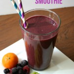 We haven't been sick since we started drinking this Immune Boosting Smoothie! We are finally staying healthy and I'm seriously going to be making this smoothie every day this winter! | Feel Great in 8 #healthy #recipe #smoothie