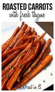 Roasted Carrots & Fresh Thyme 2