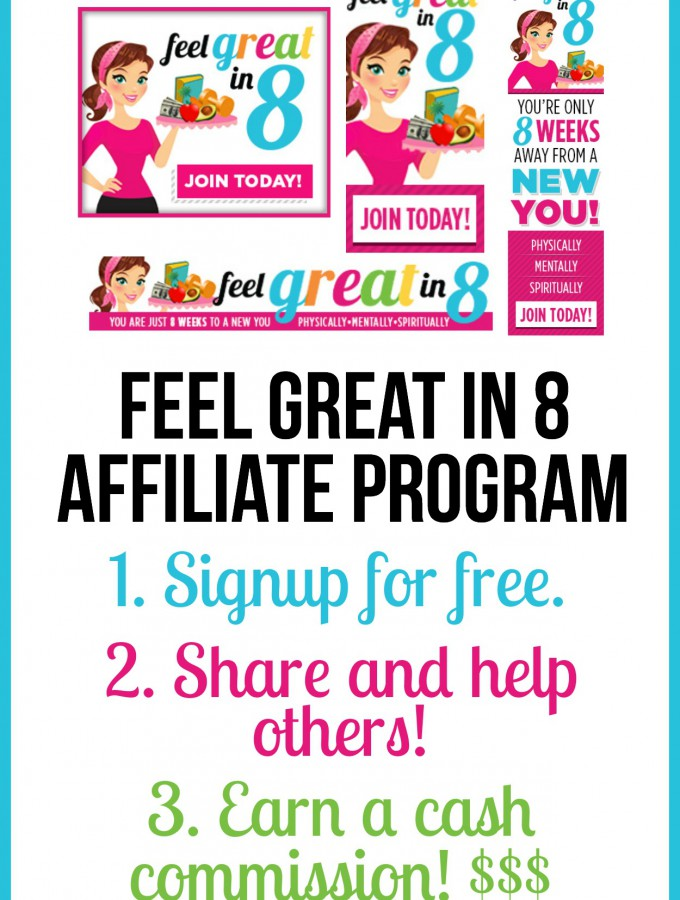 Feel Great in 8 Affiliate Program