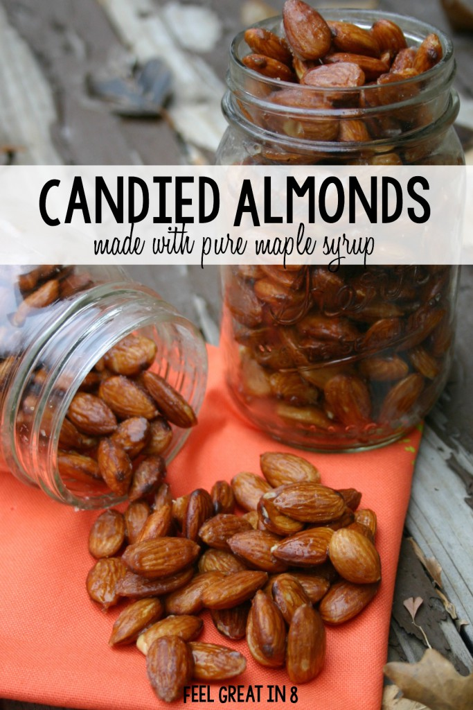Clean Eating Candied Almonds | Feel Great in 8