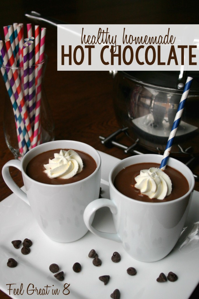 Healthy Homemade Hot Chocolate | Feel Great in 8