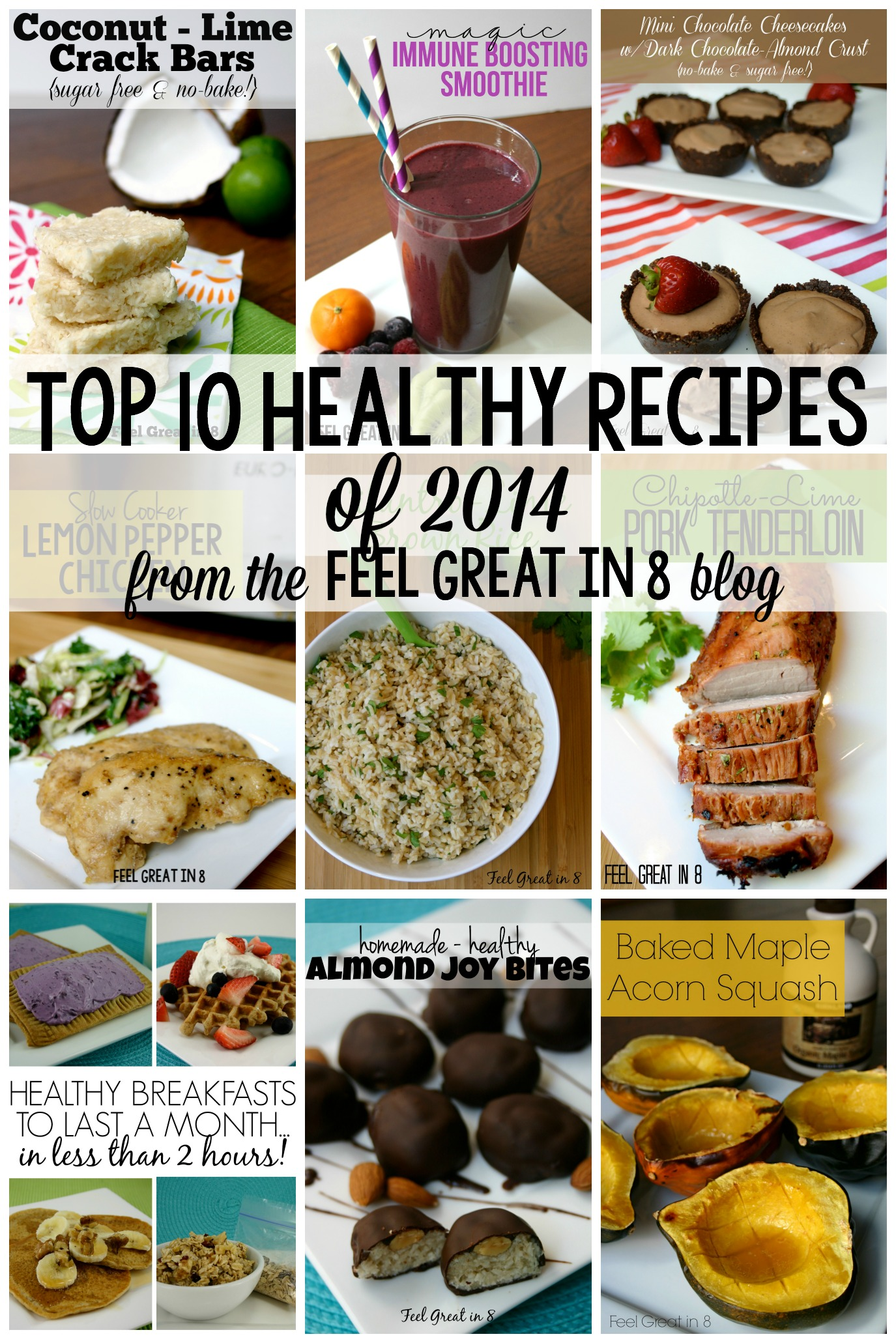 Top 10 healthy recipes of 2014 feel great in 8 blog now without further ado here is a countdown of the top 10 healthy recipes of 2104 ie the most viewed recipes on the blog last year forumfinder Choice Image