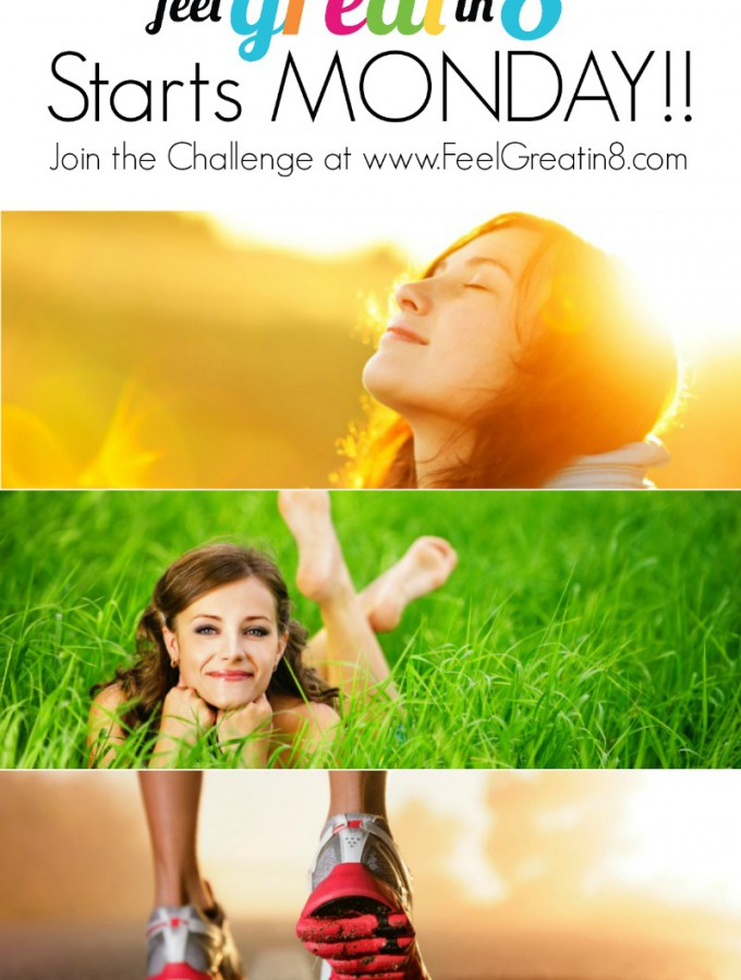 An 8 week competition that challenges you to become healthy physically, mentally, and spiritually! Feel Great in 8