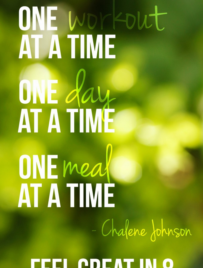 Love this healthy lifestyle quote! It might not be easy, but it is worth it! | Feel Great in 8