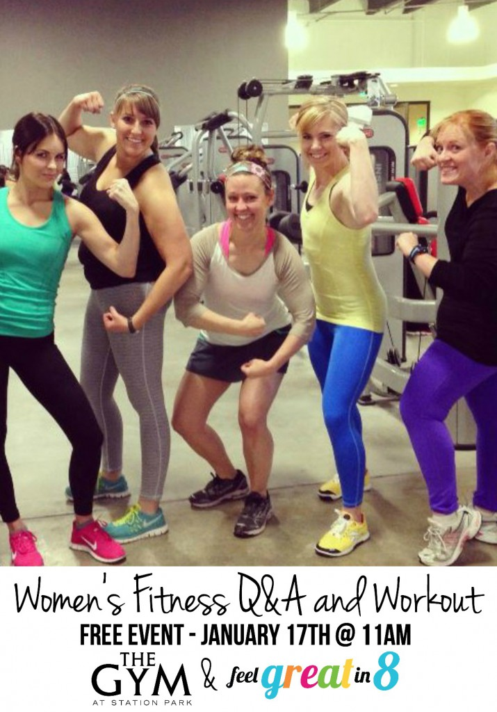 Free Women's Fitness Q&A and Workout!