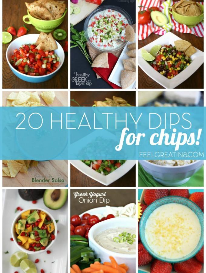 20 Healthy Chip Dip Recipes