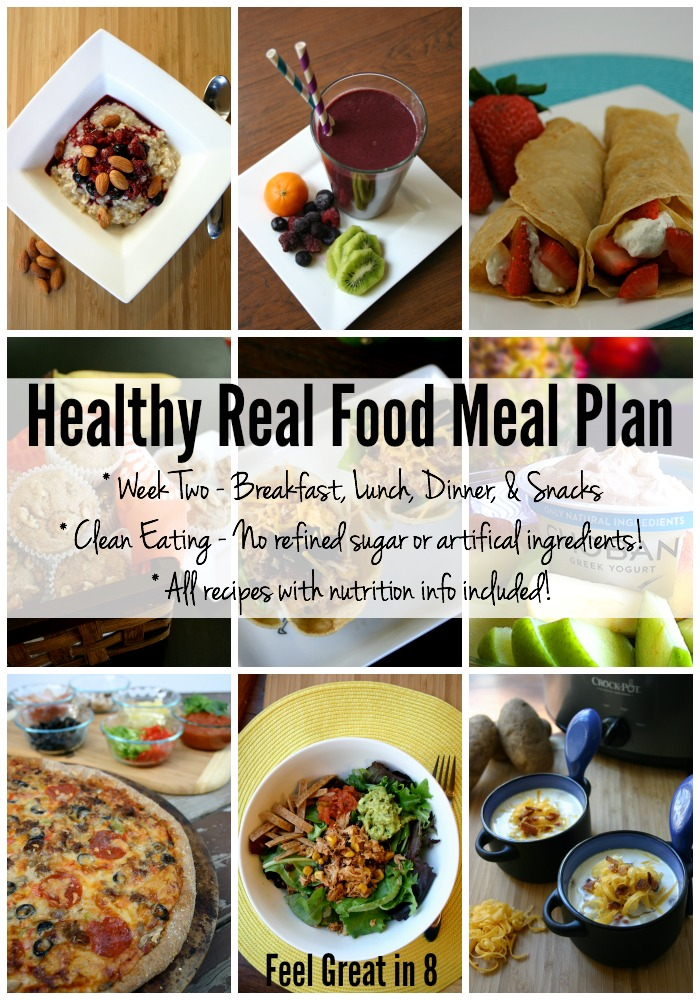 Meal Plan - Week Two