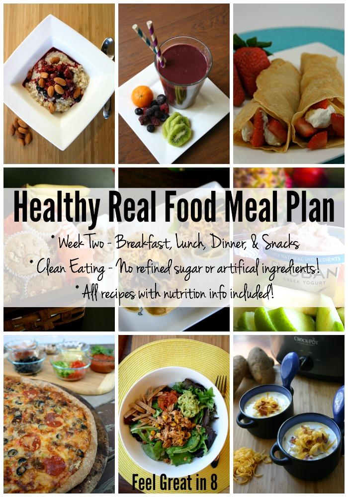 Meal Plan - Week Two