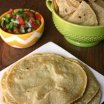 You'll love the healthy homemade versions of these mexican food favorites - homemade tortillas & baked tortilla chips! | Feel Great in 8 - Healthy Real Food Recipes