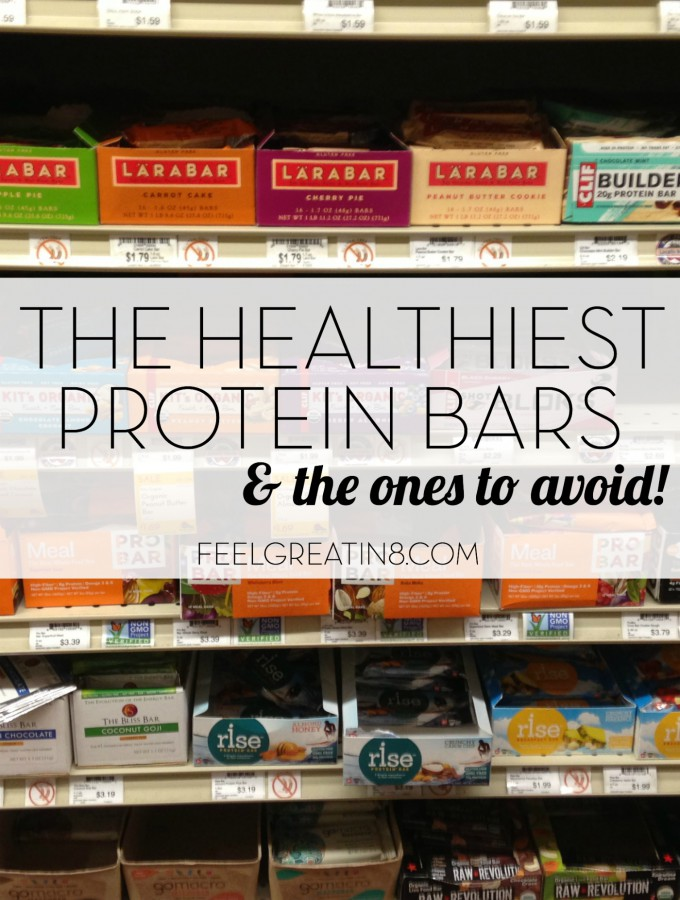 The Healthiest Protein Bars