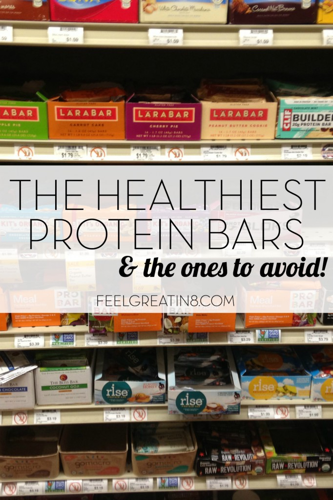 The Healthiest Protein Bars | Feel Great in 8 - Healthy Real Food Recipes