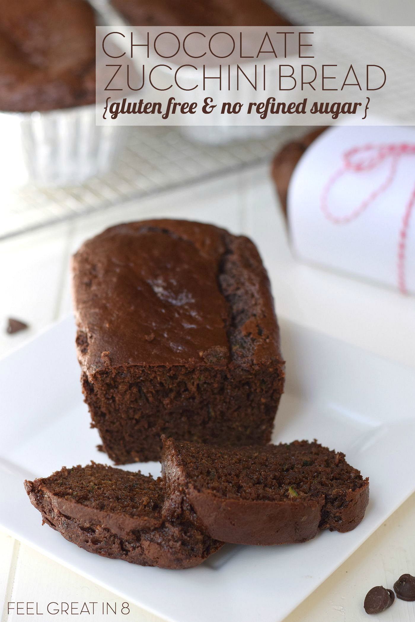 Chocolate Zucchini Bread - Feel ...