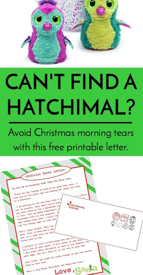 Can't find a Hatchimal?