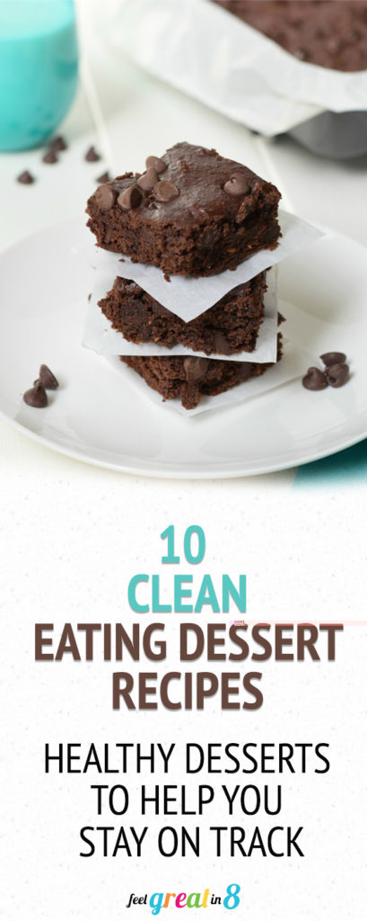 10 Clean Eating Dessert Recipes - These healthy dessert recipes will satisfy your sweet tooth. And since they are full of nutrients, protein, healthy fats, and fiber they will help you stay on track with your healthy goals too!
